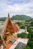 Estatua de Buda de Wat Tham Sua Imagen de archivo