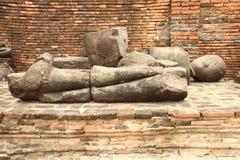 Estatua de Buda del daño imagen de archivo