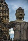 Estatua de Buda del templo budista tailandés Fotos de archivo