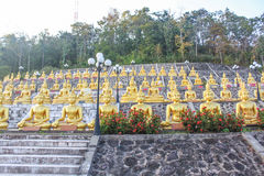Estatua de Buda en Champasak, Laos del sur Fotos de archivo libres de regalías