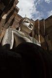 Estatua de Buda en el parque histórico de Sukhothai, Sukhot Foto de archivo