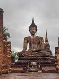 Estatua de Buda en el parque histórico Tailandia de Sukhothai Foto de archivo