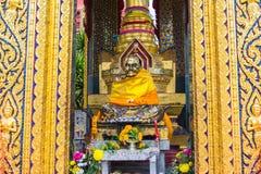 Estatua de Buda en el templo (hai de chang del wat) Imagenes de archivo