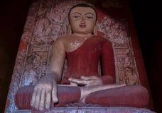 Estatua de Buda en el templo viejo Imagen de archivo libre de regalías