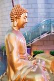 Estatua de Buda en Hong Kong City foto de archivo