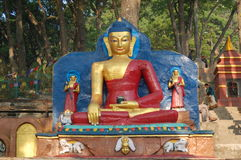 Estatua de Buda en Katmandu, Nepal Imagen de archivo