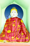 Estatua de Buda en la pagoda de Shwedagon en Rangún, Myanmar Imagen de archivo libre de regalías