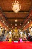 Estatua de Buda en Wat Saket, señal del viaje Foto de archivo libre de regalías