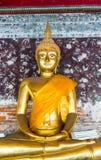 Estatua de Buda en Wat Suthat, Bangkok Imagen de archivo
