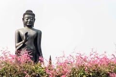 Estatua de Buda en Wat Thammikarat imagen de archivo libre de regalías