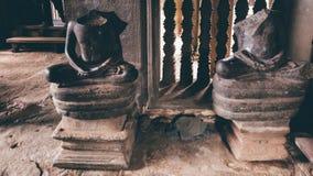 Estatua de Buda sin la cabeza Fotografía de archivo libre de regalías