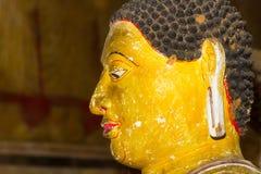 Estatua de Buda, templo de la cueva de Dambulla, Sri Lanka foto de archivo libre de regalías