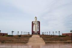 Estatua de Buddha en Ayutthaya Fotos de archivo