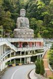 Estatua de Buddha en el templo de Swee de la barbilla Imágenes de archivo libres de regalías