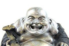 Estatua de Buddha en primer Fotos de archivo libres de regalías