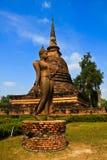 Estatua de Buddha en Sukhothai Fotografía de archivo libre de regalías