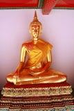 Estatua de Buddha, Wat Po, Bangkok fotografía de archivo