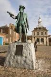 Estatua de capitán George Vancouver imagenes de archivo