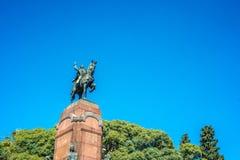 Estatua de Carlos de Alvear en Buenos Aires, la Argentina fotos de archivo libres de regalías