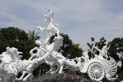 Estatua de Catur Muka en Bali Fotografía de archivo