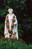 Estatua de Chama Raja Wadiyar el 10mo en Bangalore. fotografía de archivo