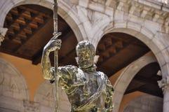 Estatua de Charles V en Toledo, España Foto de archivo