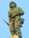 Estatua de Che Guevara foto de archivo libre de regalías