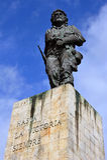 Estatua de Che Guevara fotos de archivo