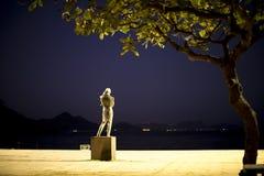 Estatua de Chopin Imagen de archivo libre de regalías