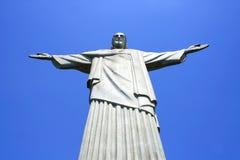 Estatua de Christo en Rio de Janeiro Foto de archivo libre de regalías