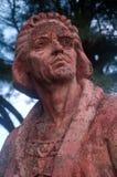 Estatua de Christopher Columbus Imagen de archivo libre de regalías