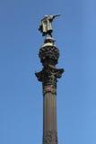 Estatua de Christopher Columbus Foto de archivo