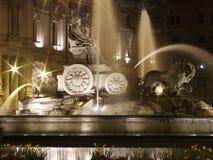Estatua de Cibeles, Madrid Fotografía de archivo