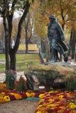 Estatua de clemenceau Imagen de archivo libre de regalías
