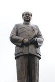 Estatua de cobre del presidente Mao Zedong el 1 de octubre, Imagen de archivo