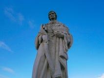 Estatua de Columbus Imagenes de archivo