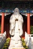 Estatua de Confucio Foto de archivo