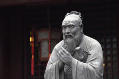 Estatua de Confucius Foto de archivo libre de regalías