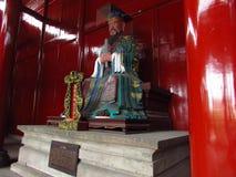 Estatua de Confucius imágenes de archivo libres de regalías