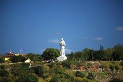 Estatua de Cristo de La Habana Foto de archivo libre de regalías