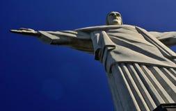 Estatua de Cristo el redentor en Rio de Janeiro Fotografía de archivo libre de regalías