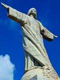 Estatua de Cristo, Garajau, Madeira Imagenes de archivo