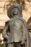 Estatua de D'Artagnan en Auch Imagen de archivo libre de regalías