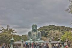 Estatua de Daibutsu en Kotoku-en el templo Fotografía de archivo