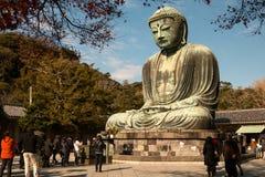 Estatua de Daibutsu en Kotoku-en el templo Fotos de archivo libres de regalías