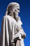 Estatua de Dante Verone (Verona) Italia Imagenes de archivo