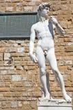 Estatua de David de Miguel Ángel en Florencia, Italia Imagenes de archivo