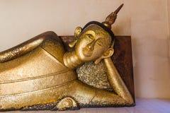 Estatua de descanso de Buda Foto de archivo