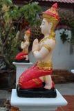 Estatua de Deva Fotografía de archivo