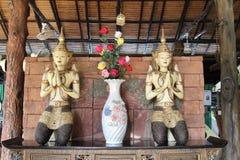 Estatua de Deva Imagen de archivo libre de regalías